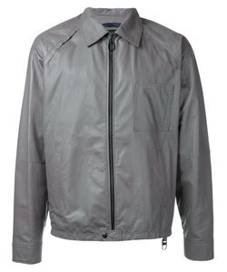 Lanvin | Collared Leather Jacket Size