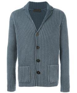 IRIS VON ARNIM | Ribbed Cardigan Small Cashmere