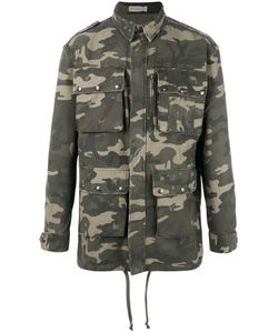 Faith Connexion | Camouflage Military Jacket Xs Cotton