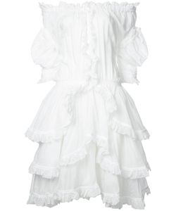 Faith Connexion | Ruffled Off Shoulder Dress Size 36