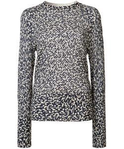 Victor Alfaro | Cheetah Print Jumper Large Silk/Cashmere