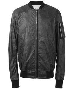 RICK OWENS DRKSHDW | Zipped Bomber Jacket Xs Cotton