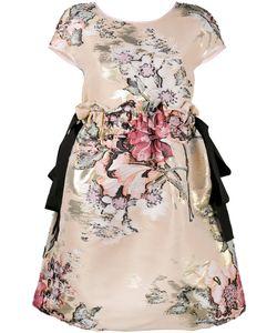 Fendi | Fil Coupé Mini Dress Silk/Cotton/Polyester/