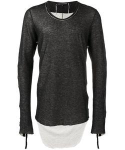CEDRIC JACQUEMYN | Dipped Hem Sweatshirt 46 Cotton