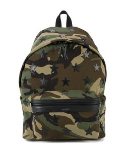 Saint Laurent | Classic Hunting Camouflage Backpack