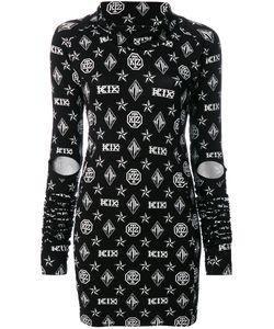 Ktz | Платье С Принтом Логотипа