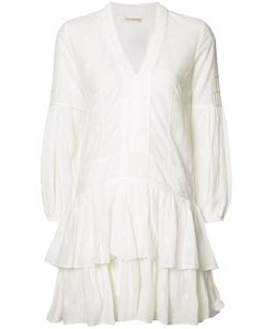 Ulla Johnson | V-Neck Jaclyn Mini Dress 2 Cotton