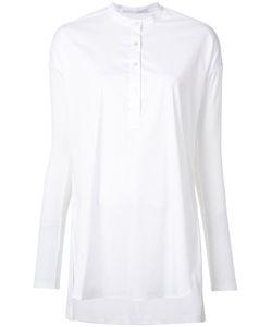 ROSETTA GETTY   Tunic Shirt Large Cotton/Nylon/Spandex/Elastane