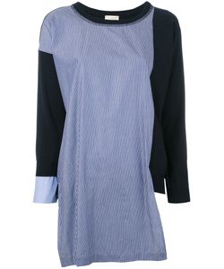 Semicouture | Colour Block Knit Top Size Medium