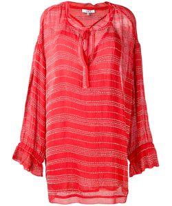 Iro   Drawstring Neck Shift Dress Size 36