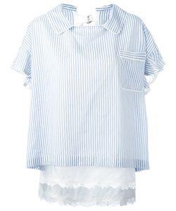 Sacai   Striped Collar Top Size 3