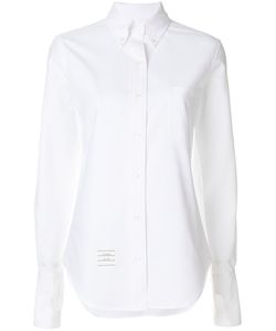 Thom Browne | Oversized Long Sleeve Button Down With Thumbholes