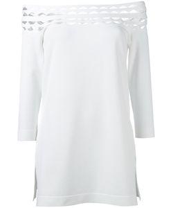 D.exterior | Off Shoulder Cut-Out Blouse Size Medium