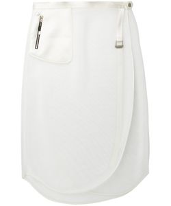 The Reracs | Perforated Wrap Skirt Size