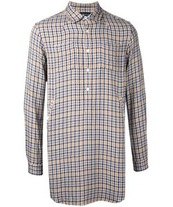 Undercover | Checked Longline Shirt 2