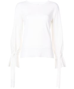 Adam Lippes | Tie Sleeve Top