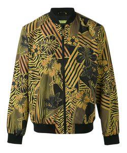 Versace Jeans | Hibiscus Print Bomber Jacket
