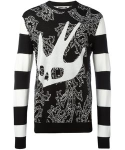Mcq Alexander Mcqueen | Paisley Swall Sweatshirt Xl Wool/Cotton