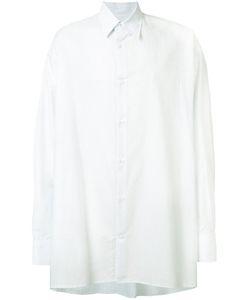 Raf Simons | Striped Oversized Sleeve Shirt