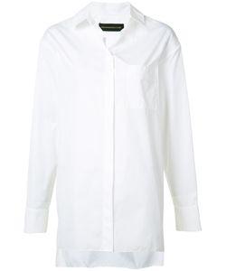 Alexandre Vauthier   Oversized Button Shirt Size 42