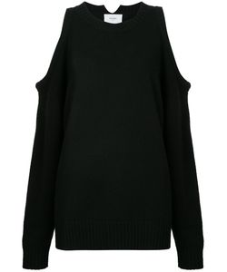 Bassike | Cropped Cut-Out Sweater