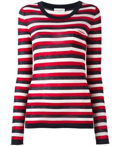 Sonia Rykiel | Striped Jumper Small Silk/Cotton