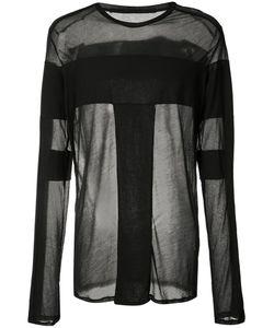 JULIUS | Sheer Longsleeved T-Shirt 2