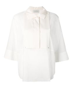 By Malene Birger | Two-Tone Bib Shirt