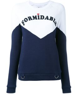 Zoe Karssen | Formidable Print Sweatshirt Size Xs