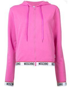 Moschino | Logo Trim Hoodie S