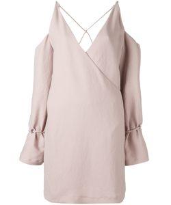 Iro | Платье С Запахом И Декоративными Вырезами