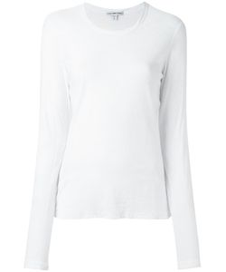 James Perse | Round Neck Longsleeved T-Shirt 3 Cotton