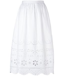 Red Valentino | Broderie Anglaise Skirt Size 42