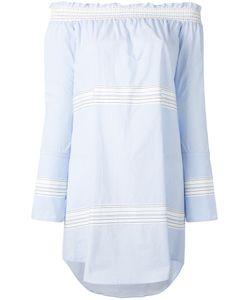 Derek Lam 10 Crosby   Off-Shoulder Bell Sleeve Dress