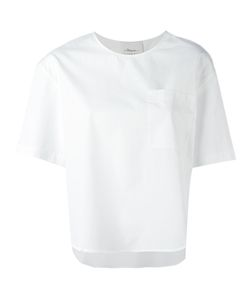 3.1 Phillip Lim | Poplin T-Shirt Size 4