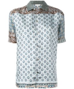 PIERRE-LOUIS MASCIA | Loose-Fit Printed Shirt Large Silk