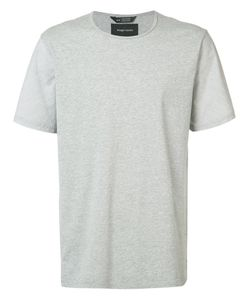 wings + horns | Wingshorns Round Neck T-Shirt Large Cotton