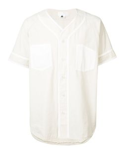 ganryu   Contrast Trim Shirt Size Large