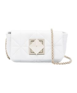Sonia Rykiel | Diamond Panel Shoulder Bag Leather