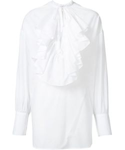 TOME | Ruffle Detail Shirt Xs Cotton