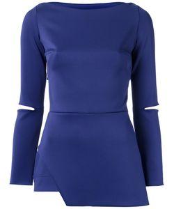 GLORIA COELHO | Asymmetric Blouse G Polyester/Spandex/Elastane
