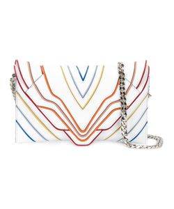 Elena Ghisellini | Multilines Shoulder Bag Calf Leather