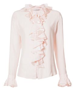 TOME | Charmeuse Longsleeved Ruffled Shirt 4 Silk