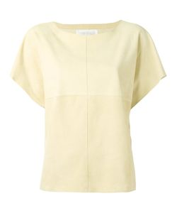Fabiana Filippi   Panelled Top Small Goat Suede/Cotton