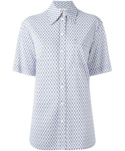 Céline   Grid Print Shirt Size 38