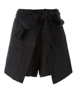 MSGM | Wrap Skirt 40 Cotton/Linen/Flax