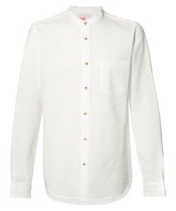 ORLEY | Grandad Collar Shirt Size Medium