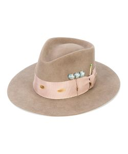 NICK FOUQUET   Embellished Panama Hat