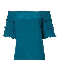 VANESSA SEWARD | Off The Shoulder Frill Sleeve Top Size 38