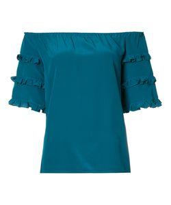 VANESSA SEWARD | Off The Shoulder Frill Sleeve Top Size 38